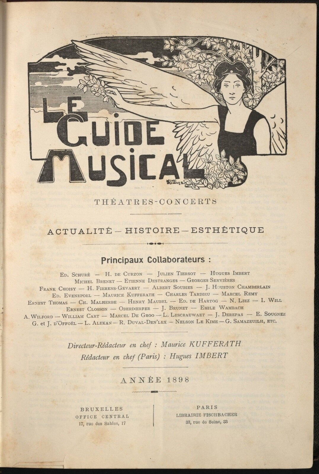 Le Guide Musical.<br>